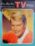 Troy Donahue on the cover of TV Week (United States) - June 1961