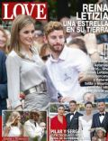 Princesa Letizia de Asturias on the cover of Love (Spain) - July 2014