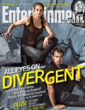 Shailene Woodley, Theo James on the cover of Entertainment Weekly (United States) - March 2014