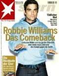 Robbie Williams on the cover of Stern (Germany) - September 2009
