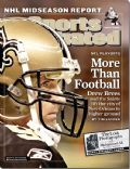 Drew Brees on the cover of Sports Illustrated (United States) - January 2007