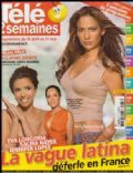 Jennifer Lopez on the cover of Tele 2 Semaines (France) - April 2007
