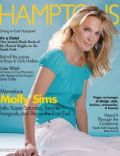 Molly Sims on the cover of Hamptons (United States) - June 2005