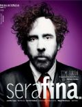 Tim Burton on the cover of Serafina (Brazil) - June 2012