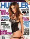 Andie Valentino on the cover of Hustler (United States) - June 2007