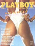 Sandra Greenberg on the cover of Playboy (Turkey) - August 1987
