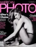 Gisele Bündchen on the cover of American Photo (United States) - July 2001