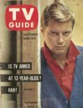 Troy Donahue on the cover of TV Guide (United States) - August 1961