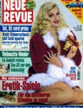 Anna Nicole Smith on the cover of Neue Revue (Germany) - December 1994