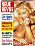Anna Nicole Smith on the cover of Neue Revue (Germany) - August 1996