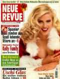 Anna Nicole Smith on the cover of Neue Revue (Germany) - December 1996