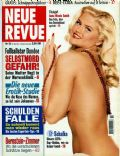Anna Nicole Smith on the cover of Neue Revue (Germany) - May 1997