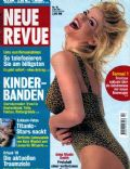 Anna Nicole Smith on the cover of Neue Revue (Germany) - March 1998