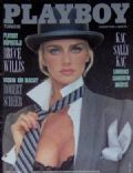 Kimberley Conrad (Kimberley Hefner) on the cover of Playboy (Turkey) - November 1988