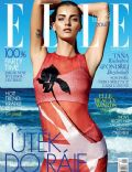 Denisa Dvoráková on the cover of Elle (Czech Republic) - January 2014