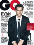 Ryan Reynolds on the cover of Gq (Mexico) - June 2013