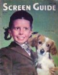 Margaret O'Brien on the cover of Screen Guide (United States) - April 1945