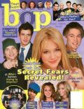 Hilary Duff on the cover of Bop (United States) - April 2004