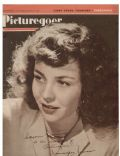 Jennifer Jones on the cover of Picturegoer (United Kingdom) - December 1947