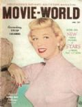 Doris Day on the cover of Movie World (United States) - January 1952