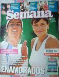 Gaston Gaudio, Marcela Kloosterboer on the cover of Semana (Argentina) - February 2005