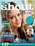 Hilary Duff on the cover of Shout (United Kingdom) - April 2008
