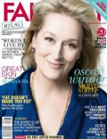 Meryl Streep on the cover of Fairlady (South Africa) - April 2012