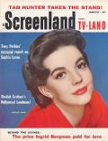 Natalie Wood on the cover of Screenland (United States) - January 1958