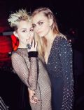 Miley Cyrus and Cara Delevingne