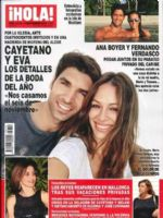 Hola! Magazine [Spain] (9 September 2015)