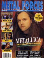 Metal Forces Magazine [United Kingdom] (February 1992)
