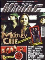 Metal Maniac Magazine [France] (August 2009)