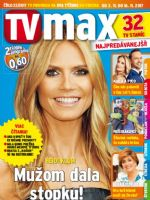 TV Max Magazine [Slovakia] (3 November 2017)