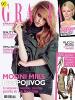 Grazia Magazine [Croatia] (November 2012)