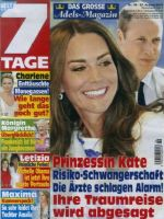 7 Tage Magazine [Germany] (27 August 2016)