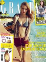 Grazia Magazine [Croatia] (August 2012)