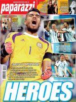 Paparazzi Magazine [Argentina] (11 July 2014)