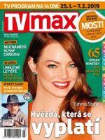 TV Max Magazine [Czech Republic] (25 January 2019)