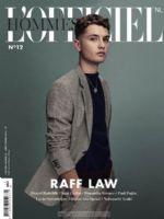 L'Officiel Hommes Magazine [Netherlands] (November 2016)