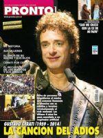 Pronto Magazine [Argentina] (10 September 2014)