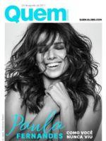 Quem Magazine [Brazil] (4 August 2017)