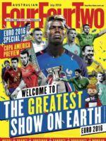 Four Four Two Magazine [Australia] (July 2016)