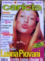Carícia Magazine [Brazil] (18 April 1998)