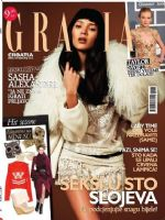 Grazia Magazine [Croatia] (January 2013)