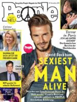 People Magazine [Germany] (19 November 2015)