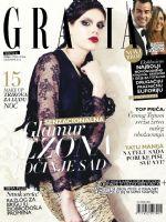 Grazia Magazine [Serbia] (December 2012)