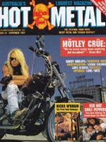 Hot Metal Magazine [Australia] (September 1991)