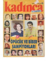 Kadinca Magazine [Turkey] (December 1990)