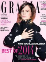 Grazia Magazine [France] (12 December 2014)