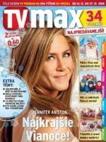 TV Max Magazine [Slovakia] (14 December 2018)